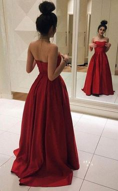 Red Long Elegant Red Satin Ball Gown Simple Sweetheart Prom Dresses uk Red Long Prom Dresses, Elegant Red Satin Prom Dress, Ball Gown, Simple Prom Dress, Sweetheart Dress for Prom 2017 Red Satin Prom Dress, Strapless Prom Dresses, Bridesmaid Gowns, Homecoming Dresses, Chiffon Dresses, Grad Dresses, Sleeved Prom Dress, Prom Ballgown, Strapless Dress Hairstyles