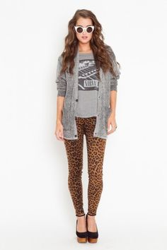 Maybes not the cheetah pants but I'm likin the idea.