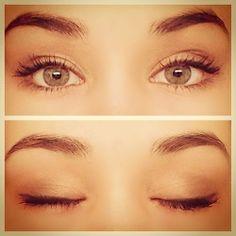 Natural beautiful makeup