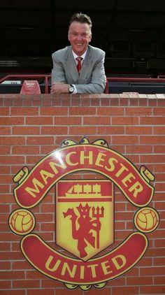 Louis van Gaal Man U...not my team but respect due