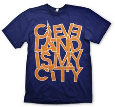 Great old school Cavs colors Cleveland T-shirt
