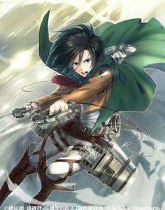 Mikasa | Shingeki no Kyojin | Attack on titan |