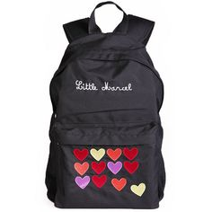 Sac a dos scolaire borne coeurs Little Marcel Little Marcel, Fashion, Book Bags, Bag, Black People, Moda, Fashion Styles, Fashion Illustrations