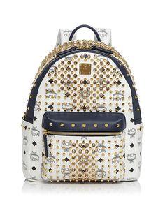 Mcm Backpack - Diamond Visetos Small Mcm Backpack c2af9ae456