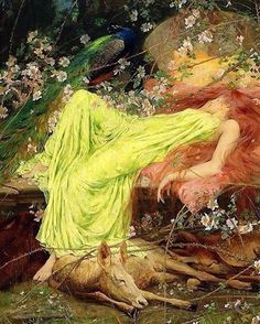 Arthur Wardle (1864-1949) This beautiful painting describes my current situation perfectly