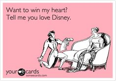 tell me you love disney