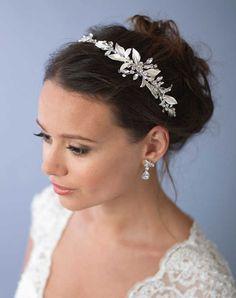 USABride Trina Floral Headband TI-3282 Wedding Headbands photo