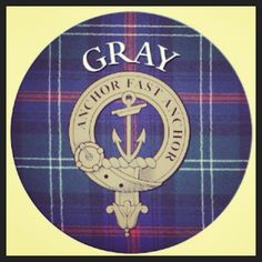 Family crest. Gray clan