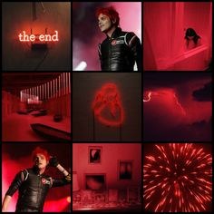 Requested! Gerard Way red moodboard (my edit)