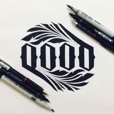 GOOD Ambigram, Submitted by Gokmen Islimye.