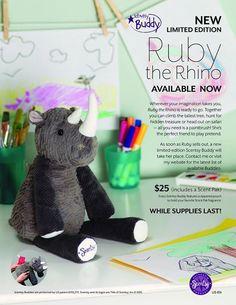 Ruby Rhino Buddy HTTPS://808scents.scentsy.us