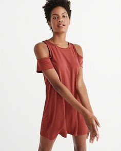 Womens Shoulder-Baring Dresses | Abercrombie & Fitch