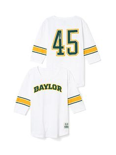 In case you're unaware, Victoria's Secret PINK line carries #Baylor gear!