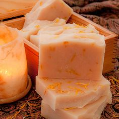 Jasmine and Ylang Ylang Soap £4.25 by Oakwood Soaperie on Creative Connections #CRAFTfest, #Handmade Soap