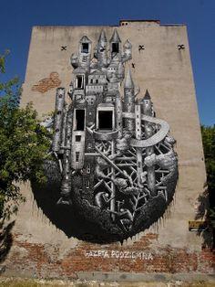 phlegm Painted for the Street art Doping festival.