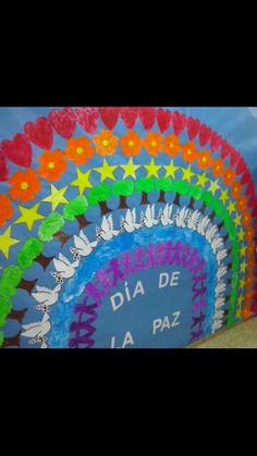 Dia de la paz.. Harmony Day, Peace And Harmony, Peace And Love, Class Decoration, School Decorations, Crafts For Kids, Arts And Crafts, Blended Learning, Saint Valentine
