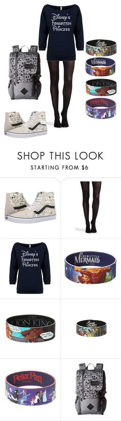 """""""Untitled #225"""" by coconutmoon ❤ liked on Polyvore featuring Vans, SPANX, Disney, Hot Topic and JanSport"""