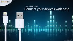 USB Cables by Slanzer Technology- catering to all your 'on the go' needs