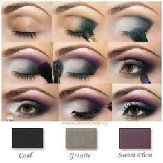 Love this purple Smokey eye using Mary Kay eyeshadows. www.marykay.com/trnelson