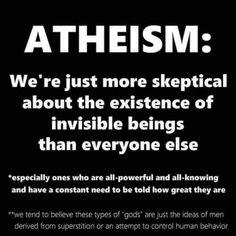 The Patron Saint of Atheism