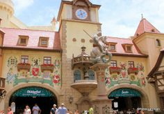 Review of Biergarten in Epcot's Germany Pavilion #DisneyFood