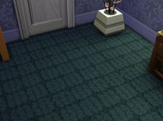 Mod The Sims - Patterned Carpet Set Two - 15 Colors