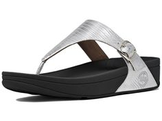 Womens FitFlop The Skinny -                     Price:              View Available Sizes & Colors (Prices May Vary)        Buy It Now      FitFlop The Skinny Sandals in Silver are must haves with an adjustable buckle! The Skinny by FitFlop features a faux tonal embossed animal print design that is stylish and...