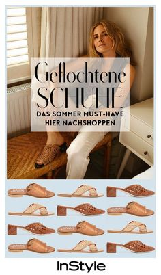 Trend-Alarm 2018: geflochtene Schuhe sind das Must-have des Sommers Cooler Style, Beach Wear, Must Haves, High, My Style, Espadrilles, Flats, Outfits, Instagram