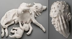 Porcelain Sculptures by Kate D. MacDowell