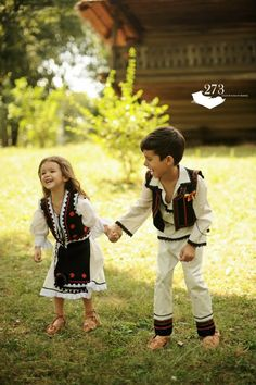 Traditional costumes from Romania. Bulgarian Flag, Romanian Flag, Romanian Girls, People Photography, Children Photography, Danube Delta, Visit Romania, Central And Eastern Europe, Precious Children