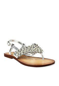 naughty monkey womens pearl sandal bifw