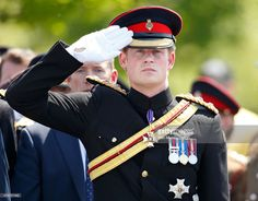 (EMBARGOED FOR PUBLICATION IN UK NEWSPAPERS UNTIL 48 HOURS AFTER CREATE DATE AND TIME) Prince Harry attends a Service of Dedication to inaugurate the Bastion Memorial at the National Memorial Arboretum on June 11, 2015 in Stafford, England. (Photo by Max Mumby/Indigo/Getty Images)
