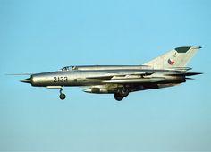 Czechoslovak Air Force Mikoyan-Gurevich MiG-21R
