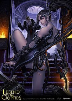 Art about fantasy, steampunk, comics, sci-fi and other lands of dreams. Fantasy Girl, Chica Fantasy, Fantasy Women, Anime Fantasy, Dark Fantasy, Fantasy Rpg, Fantasy Portraits, Fantasy Artwork, Fantasy Characters