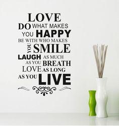 Love happy life