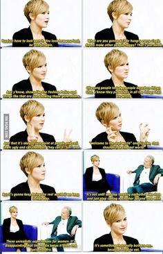 Jennifer Lawrence strikes again