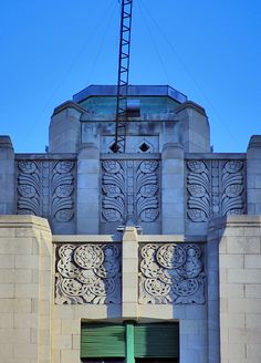 Alfred building. Montréal. Canada. Art déco