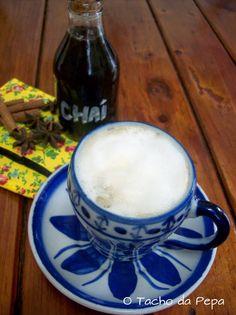 Chá delicioso para o inverno, com leite e especiarias em O tacho da Pepa: Chai Latte, porque tá frio !!