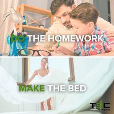 Collocations ↝ palabras que se utilizan regularmente juntas Para hacer los deberes utilizamos 'Do' pero para hacer la cama 'Make' ↡   #LearnEnglish #Inglés   Aprender Inglés, study english, learning english, study abroad, estudiar inglés,lengua extranjera