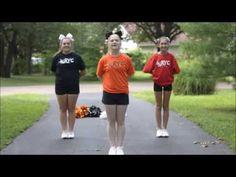 Rolla Youth Cheerleading - TAKE - YouTube RYC, easy cheer, simple cheers, quick cheers, youth cheers