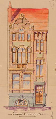 Schaerbeek - Avenue Sleeckx 31 - RASQUIN Florent