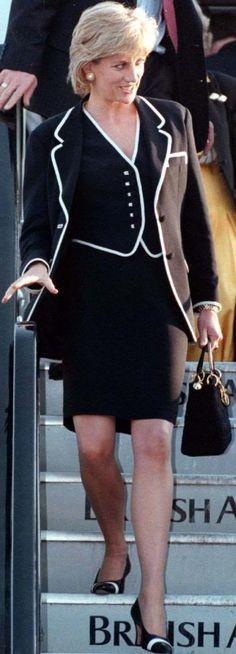 November 1985 - Princess Diana in Washington DC
