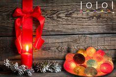 Skapa din egen ljusslinga med de färger du gillar bäst. http://ioioi.se/produkt/skapa-egen-ljusslinga/