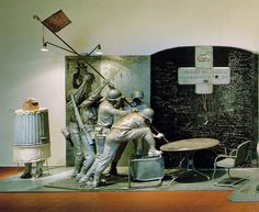 "Edward Kienholz  ""The Portable War Memorial"" (Detail)"