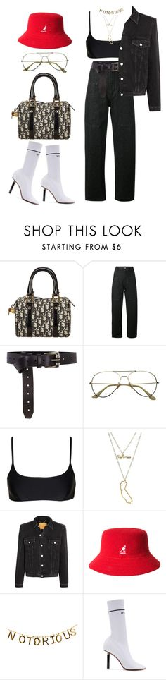 """""""Untitled #299"""" by uraveragestyle ❤ liked on Polyvore featuring Christian Dior, Isabel Marant, Karen Millen, Matteau, Charlotte Russe, Balenciaga, kangol and Vetements"""
