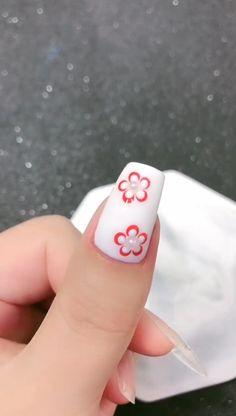 Nail Art Salon, Gel Nail Art, Nail Art Diy, Diy Nails, Nail Art Ideas, Girls Nail Designs, Nail Art Designs Images, Pink Gel Nails, Cute Acrylic Nails