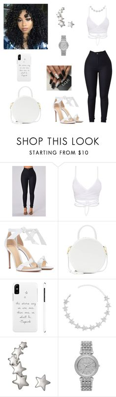"""""""Untitled #895"""" by honeycombs23 ❤ liked on Polyvore featuring Alexandre Birman, Mansur Gavriel and Michael Kors"""