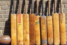 Vintage Cricket Bats Genuine old Willow Cricket Bats. £35.00, via Etsy.