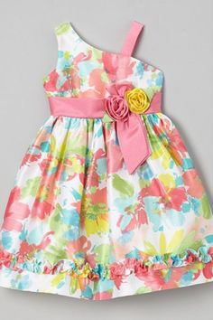 Maria Valentina, Asymmetrical Dress, Toddler Dress, Girl Outfits, That Look, Rompers, Summer Dresses, Pink, Beautiful