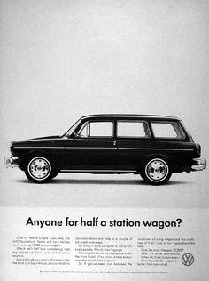volkswagen squareback type 3 vintage ad